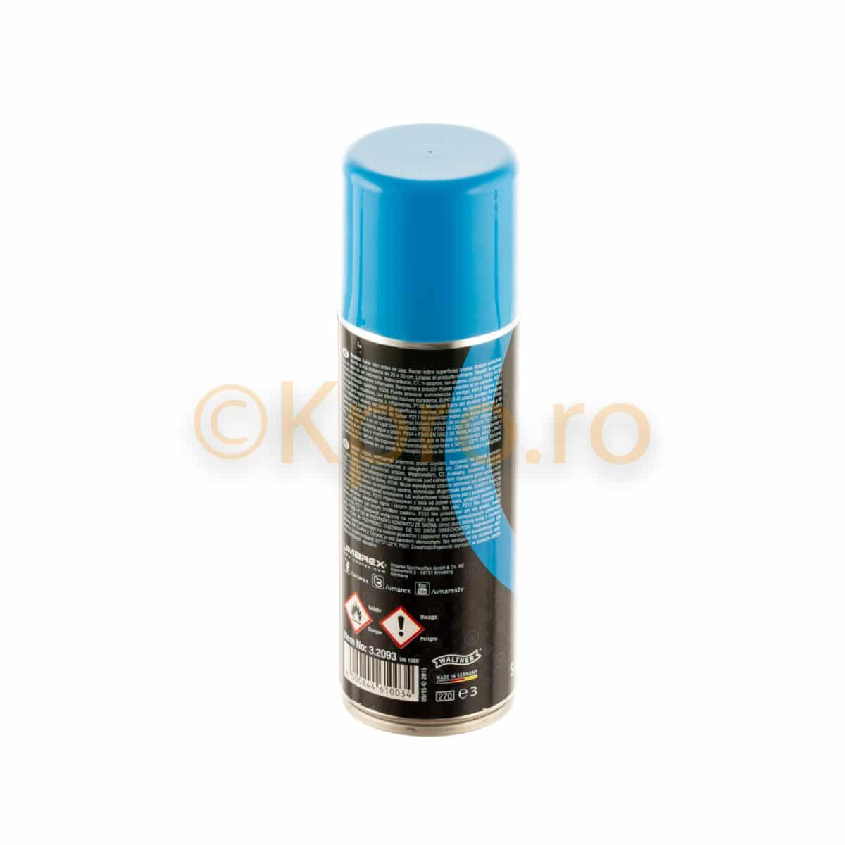 Spray ulei silicon airsoft Walther Pro 200ml