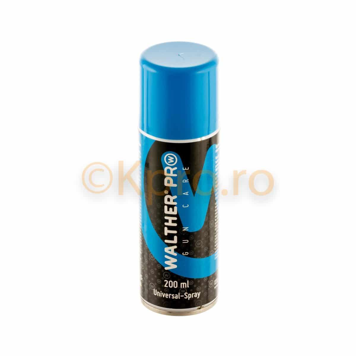 Spray ulei lubrifiant universal Walther Pro 200ml